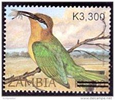 Zm1026 Zambia 2007, SG1026, K3,300 Surcharge On K1,400 - Zambia (1965-...)