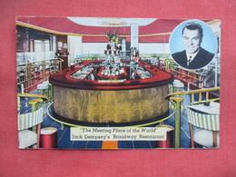 Boxer Jack Dempsey's  Restaurant NY City  Has Crease   Ref 3455 - Boxing