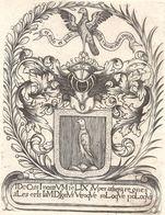 Ex-libris FÉGELY, De. Fribourg. XVIIe Siècl (retirage) - Ex Libris