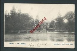 TILLIER. (Fernelmont) Le Château.   2 Scans - Fernelmont