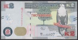 Zambia 2 Kwacha 2018 P56b UNC - Zambia