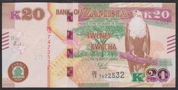 Zambia 20 Kwacha 2018 P59b UNC - Zambia