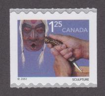 CANADA, 2002, # 1930, COILS, TRADITIONAL TRADES : SCULPTURE      MNH - Neufs