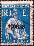 AZORES 1925 Ceres 1E.60 P.12 X 11.5.Used - Azores