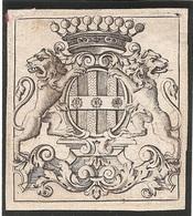 Ex-libris François-Pierre-Louis D'ESTAVAYER (1681-1736). Fribourg. - Ex Libris