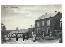 Opont - Presbytère Animé - Circulé 1913 - Edit. Anciaux Delogne - Paliseul