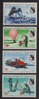 Antarctique Britannique - N°21 à N°24 - Cote 20€ - * - Neuf Avec Charniere - British Antarctic Territory  (BAT)