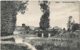 Opont - Pont Sur La Lesse - Circulé 1913 - Edit. Anciaux Delogne - SUPER - Paliseul