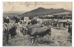 CPA 848 La Foire De Roches Près Saint St Vaury Et Bussières Dunoise Creuse Voyagée 1908 - Other Municipalities