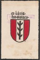 Ex-libris Hubert De VEVEY (1897-1984). Estavayer-le-Lac, Fribourg - Ex Libris