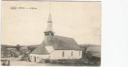 Opont - L'église Et Vieux Cimetière - Circulé 1924 - Edit. Droguet Soeurs - Paliseul