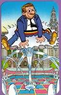 Calendrier °° 1994 - Humour - Le Saut Sur Jet D'eau - 6x9 - Calendarios