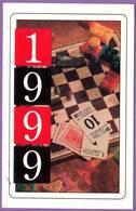Calendrier °° 1999 -  PJC - Jeux - 6x9 - Calendarios