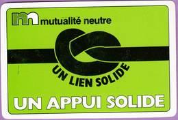 Calendrier °° 1986 - Mutualité Neutre  - Un Lien Solide - 6x9 - Calendriers
