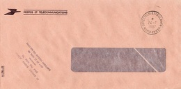 LSC 1987 - Cachet DIRECTION AMBULANTS- Nord Et Est / Griffe Direction Des Bureaux Ambulants - Postmark Collection (Covers)