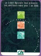 Calendrier °° 2000 - Banque C.A - Un Siècle Au Futur - 8x11 - Calendriers