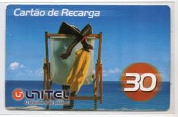 ANGOLA PREPAYEE UNITEL Année 2006 - Angola