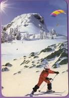 Calendrier °° 1999 -  Andorre - Hôtel Bonavida - Skieur - 6x9 - Calendarios