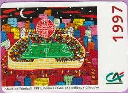 Calendrier °° 1997 - Stade Football 81 - C.A - Pedro Lazaro - 8x11 - Calendarios