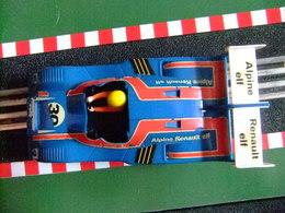 SCALEXTRIC Exin RENAULT ALPINE 2000 TURBO Azul Ref.4053 Made In Spain - Circuitos Automóviles