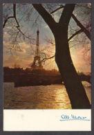 94137/ Photographe Albert MONIER, *Paris, La Seine Et La Tour Eiffel* - Monier