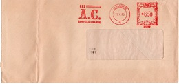 LSC 1975 - EMA - LES A.C. Jambes Les Namur & Cachet JAMBES - Franking Machines