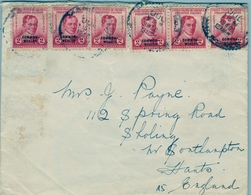 1940 FILIPINAS / PHILIPPINES , SOBRE CIRCULADO, CANADIAN PACIFIC STEAMSHIP LINES, MANILA - SOUTHAMPTON - Filipinas