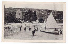 1920s 30s YUGOSLAVIA, CROATIA, LOPUD ISLAND TO BELGRADE , SERBIA, ILLUSTRATED POSTCARD, USED - Croatia
