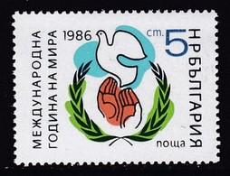 TIMBRE NEUF DE BULGARIE - ANNEE INTERNATIONALE DE LA PAIX N° Y&T 2986 - ONU