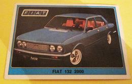 SUPER AUTO PANINI 1977 N. 113 FIAT 132 2000 NEW CON VELINA - Edizione Italiana
