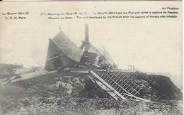 62 MONCHY AU BOIS MOULIN DETRUIT APRES LA CAPTURE DE L ESPION GUERRE 1914 1918 - Guerra 1914-18