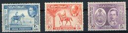 Iraq N° 177 à 179 Neufs ** (MNH) Cote 17.5 €. TB - Iraq