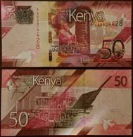 Kenya - 50 Shillings 2019 UNC Lemberg-Zp - Kenia