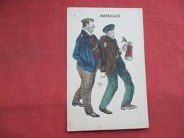 Germany Comic Drink Drunkards BAYRISCH    Ref 3455 - Humour