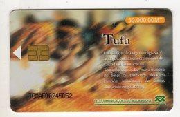 MOZAMBIQUE REF MV CARDS MZB-10 50 000MT TUFU Année 1999 - Mozambico