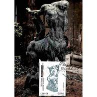 CM Baudry - Antoine Bourdelle, Centaure Mourant - 04/11/11 Paris - Maximum Cards