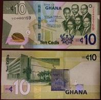Ghana - 10 Cedis 2019 AUNC / UNC Lemberg-Zp - Ghana