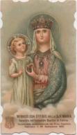 Santino Con L'effigie Della Madonna Che Si Venera Nella Basilica Abbaziale Di Follina (Treviso) - Santini