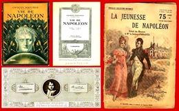 ** LA  VIE  De  NAPOLEON  1935  +  AUTRES ** - Geschichte