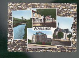 CP - 36 - Poulaines -  Multi-vues - Autres Communes