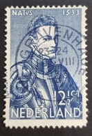 1933 The 400th Anniversary Of The Birth Of King William L, Nederland, Netherlands, Holland, Pays Bas, *, **, Or Used - 1891-1948 (Wilhelmine)