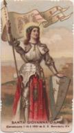 Santino Di Santa Giovanna D'Arco - Devotieprenten