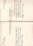 Mariage 1921 Germaine D'Hespel & Eméric De Timary Bruxelles Van Den Berghe De Binckum Lubbeek Binkom Tienen - Mariage