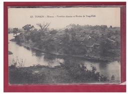 VIETNAM --TONKIN -- MONCAY -- FRONTIERE CHINOISE ET RIVIERE DE TONG-HINH-- CP NON CIRCULEE-- - Vietnam
