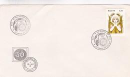 1981 SPECIAL COVER BRESIL- 50 ANOS DO ROTARY CLUB RECIFE - BLEUP - Rotary, Club Leones