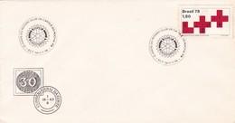 1979 SPECIAL COVER BRESIL- 10 ANOS DO ROTARY CLUB DE CATOLE DO ROCHA - BLEUP - Rotary, Club Leones