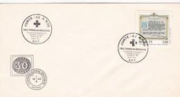 1978 SPECIAL COVER BRESIL- JUNTE SE A NOS, CRUZ VERMELHA BRASILEIRA - BLEUP - Cruz Roja