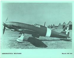 """4514""""AERONAUTICA MILITARE-MACCHI MC 205 - CENTRO C.F.T.  A.M."""" ORIGINALE - Aviazione"""