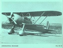 """4515""""AERONAUTICA MILITARE-FIAT CR 42 - CENTRO C.F.T.  A.M."""" ORIGINALE - Aviazione"""