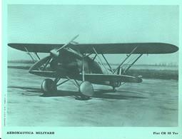 """4516""""AERONAUTICA MILITARE-FIAT CR 32 TER - CENTRO C.F.T.  A.M."""" ORIGINALE - Aviazione"""